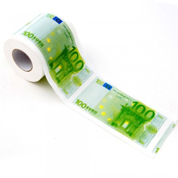 Papier toilette Euro, l'anti-crise