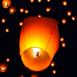 Lanterne volante Sky Lantern à l'unité