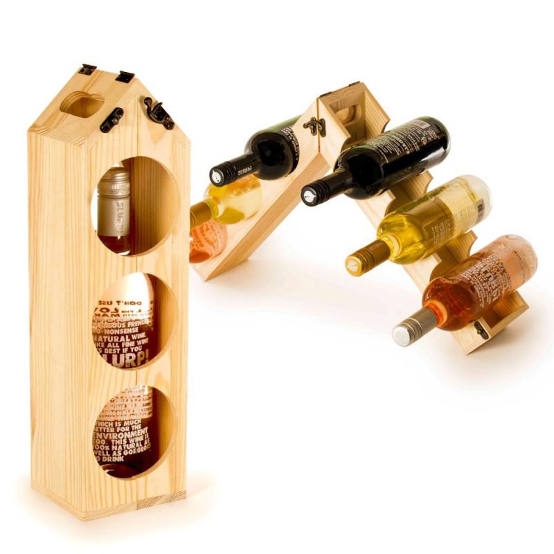 Coffret à bouteille transformable RackPack