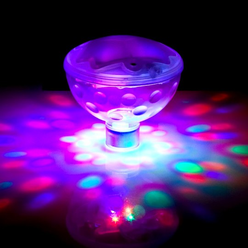 Féérie disco lumineuse pour le bain
