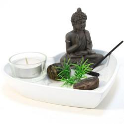 Coeur jardin zen