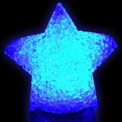 Etoile led cristal