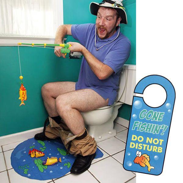 Jeu de pêche divertissant pour WC