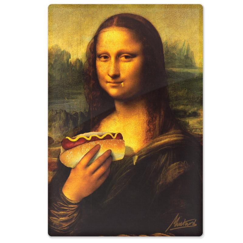 Planche 224 D 233 Couper La Joconde Hungry Lisa 224 12 95