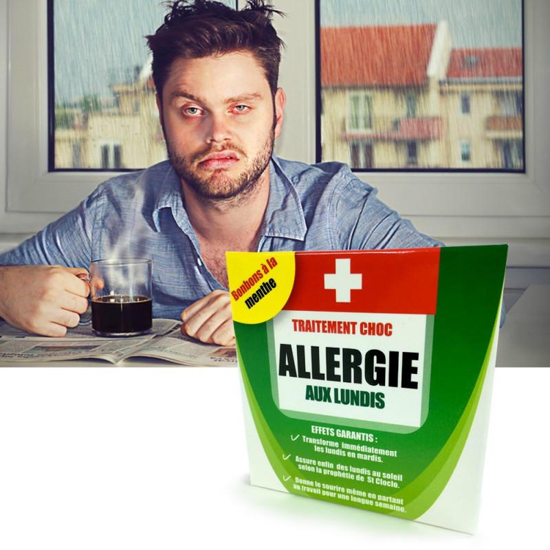 Médicament Allergie aux lundis