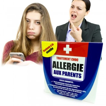 Médicament allergie aux parents
