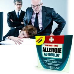 Médicament Allergie au boulot