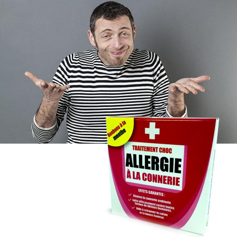 Médicament Allergie à la connerie