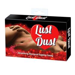 Sucre pétillant à la fraise Lust Dust