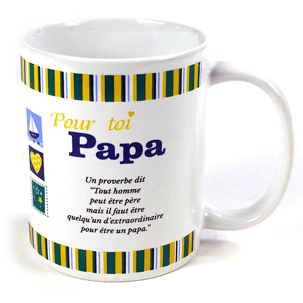 Préférence Mug Pour toi Papa à 6,50 € IW21