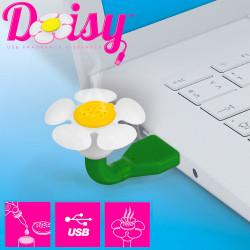 Daisy, fleur diffuseur d'huiles essentielles USB