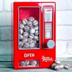 Distributeur automatique vintage de bonbons