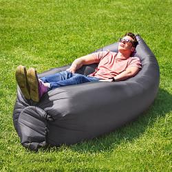 Hamac sofa auto-gonflant gris lunaire