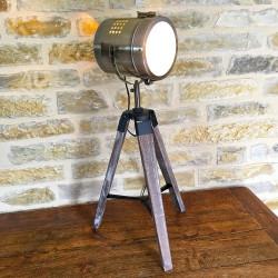 Lampe projecteur vintage
