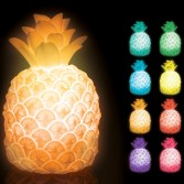 Lampe ananas couleurs changeantes