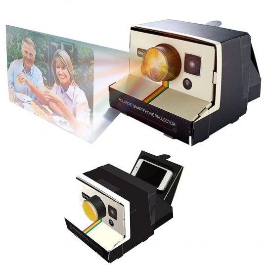 polaroid projecteur pour smartphone 24 95. Black Bedroom Furniture Sets. Home Design Ideas