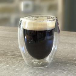 2 tasses à espresso double paroi