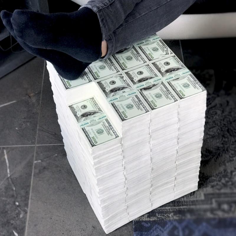Pouf 3 millions de dollars