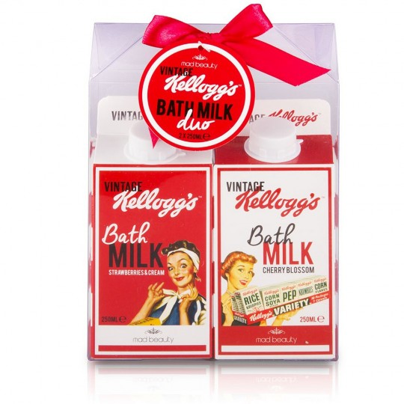 Coffret laits de bain Vintage Kellogg's