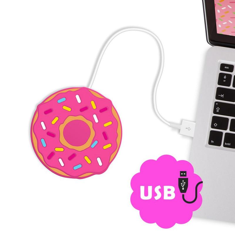 Chauffe-tasse USB Donut