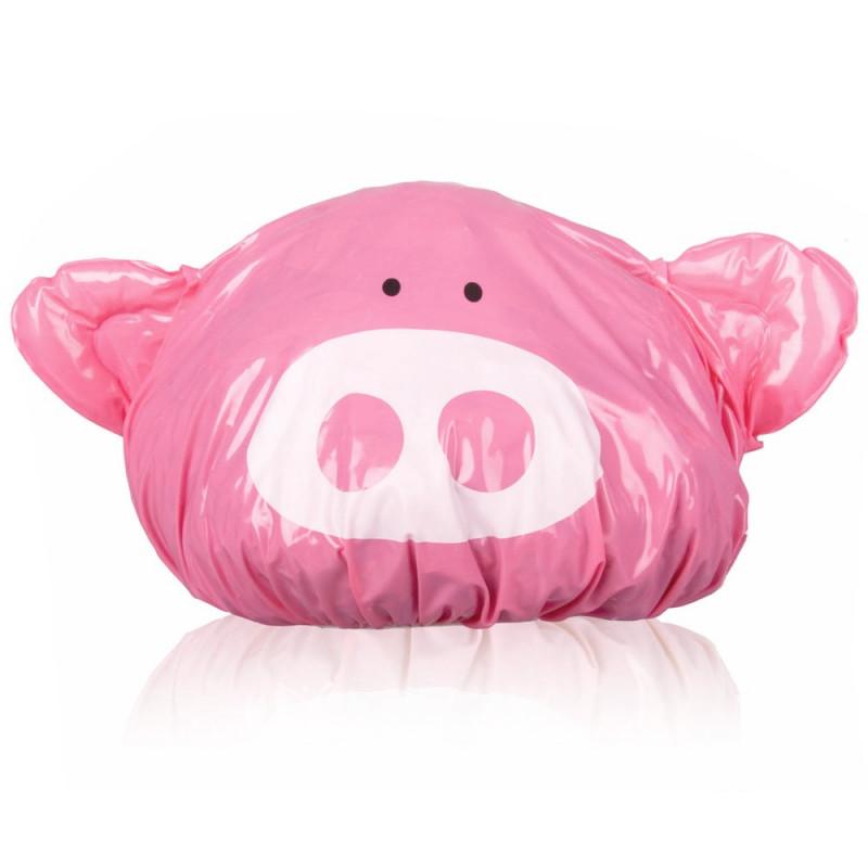 Bonnet de bain cochon