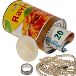 Boîte de raviolis cachette secrète