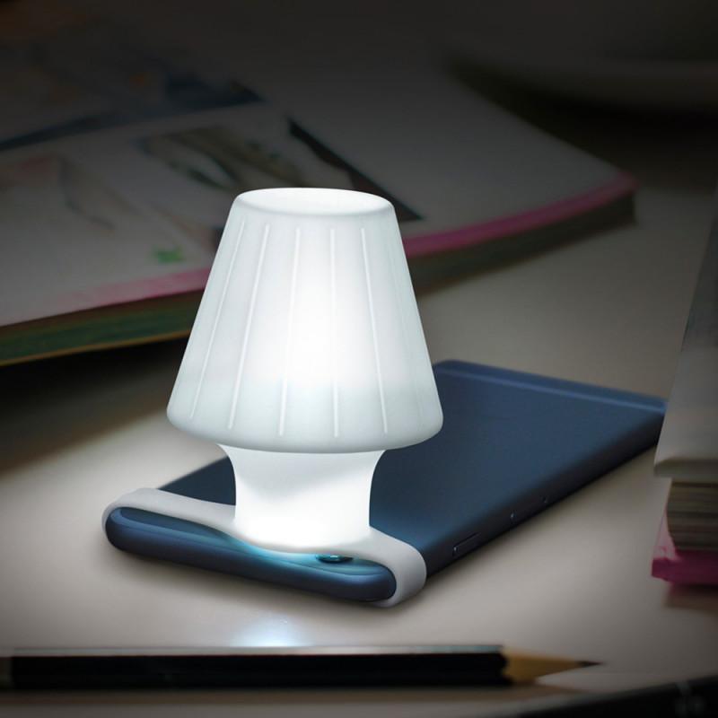 Mini lampe de chevet pour smartphone