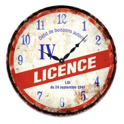 Horloge Licence IV
