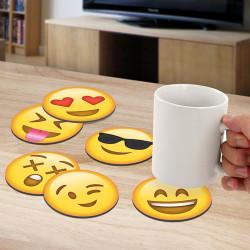 Dessous de verre Emoji