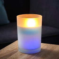 Bougie à couleurs changeantes LED