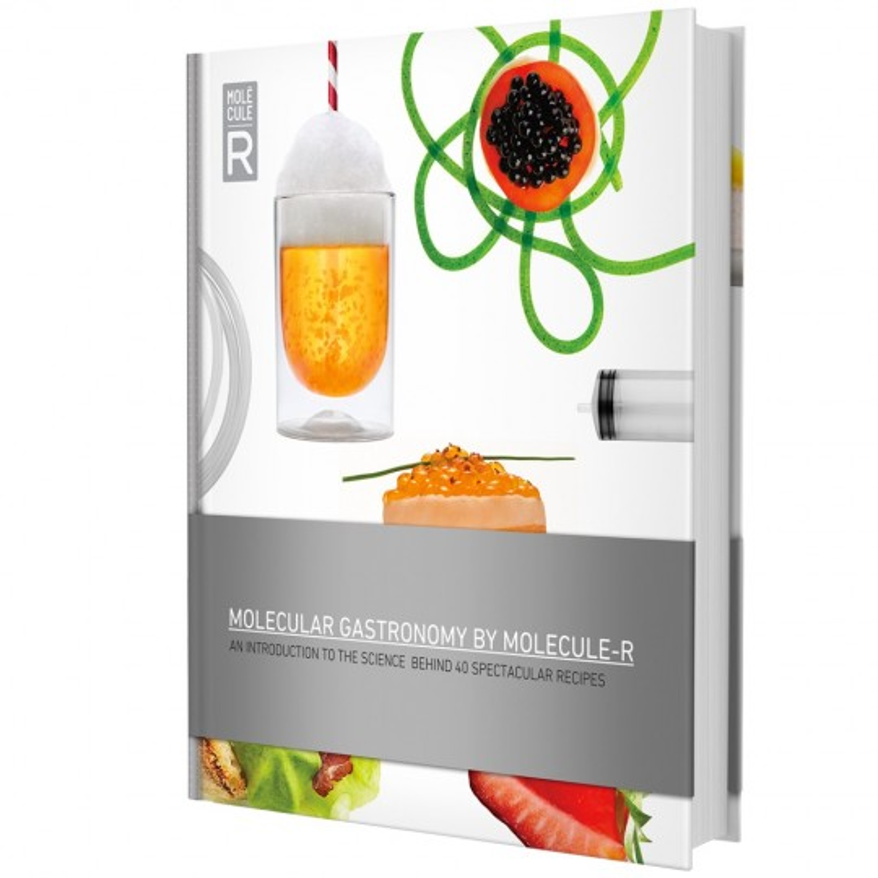 Livre de cuisine moléculaire