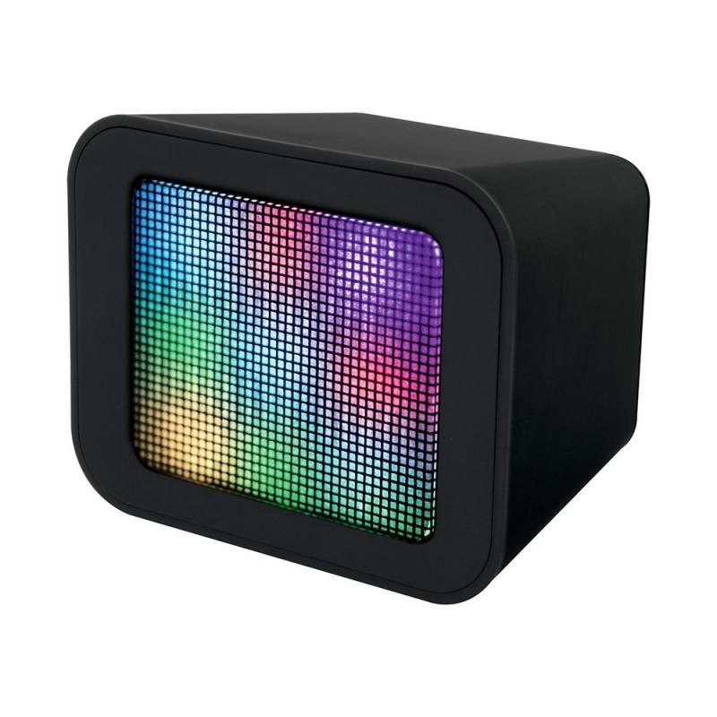Enceinte cube bluetooth Led