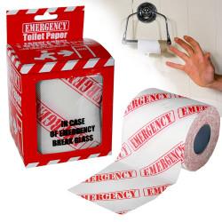Papier toilette d'urgence