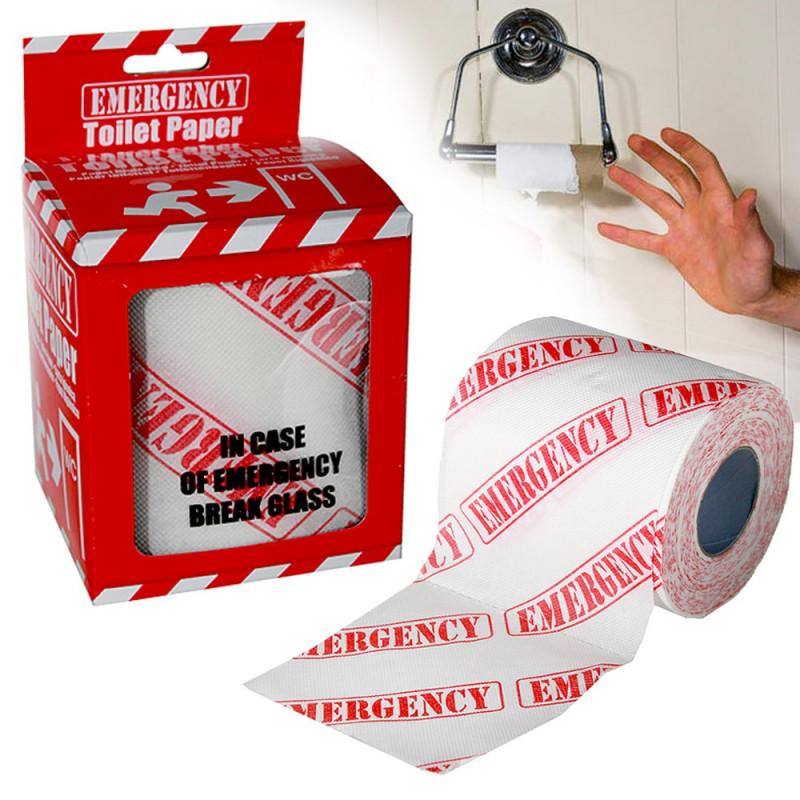Papier toilette Urgence