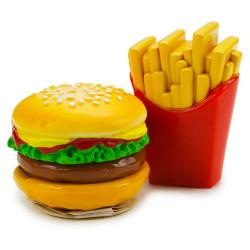 2 baumes à lèvres Burger Frites