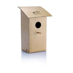 Nichoir pliable en carton
