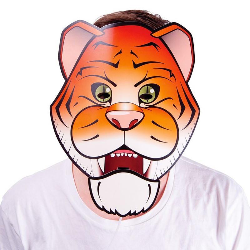 Masque tigre bavard