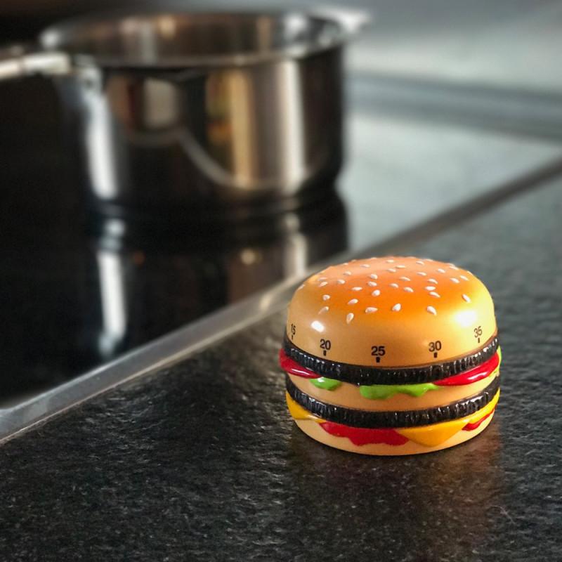 Minuteur hamburger
