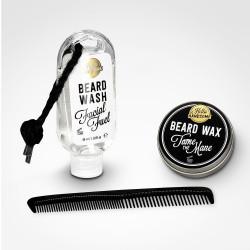 Kit d'entretien barbe et moustache