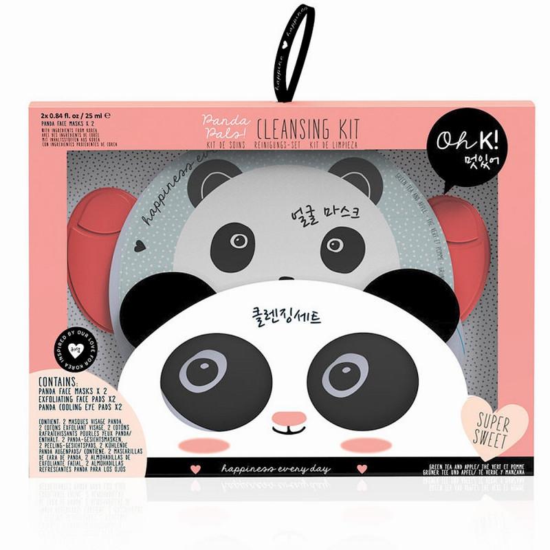 Coffret masques de soin beauté Panda