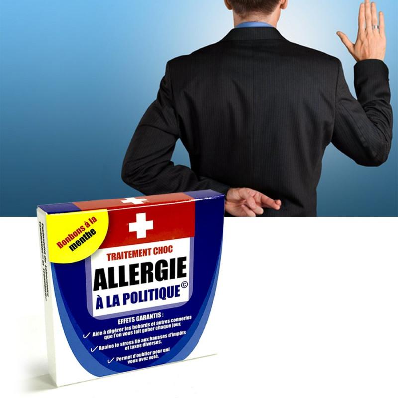 Médicament Allergie à la politique