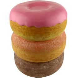 Pouf Donut en résine