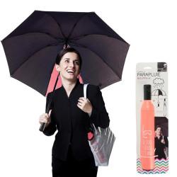 Parapluie bouteille astucieux