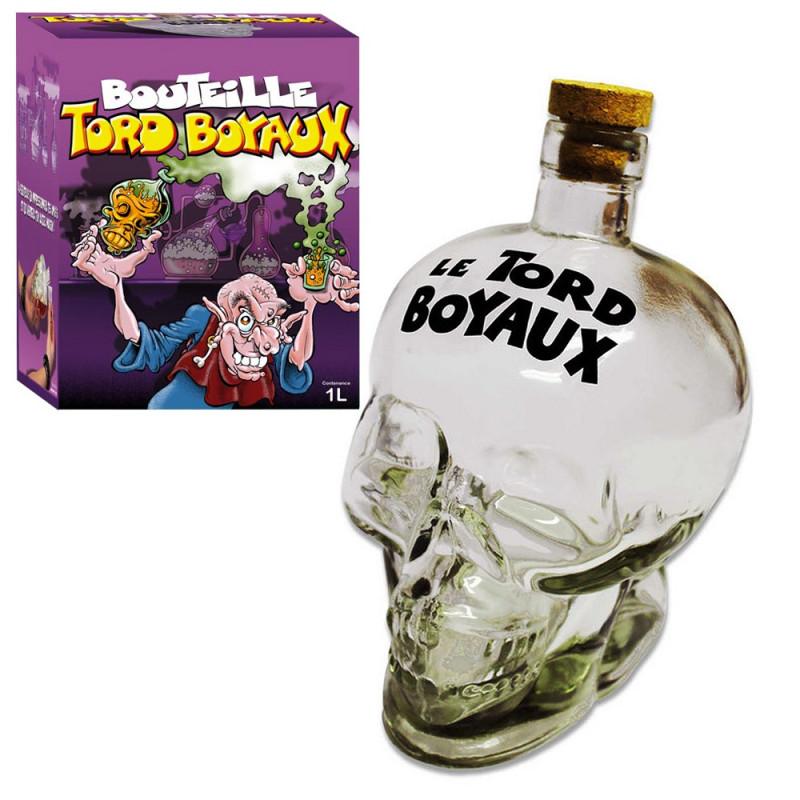 Bouteille tête de mort Tord Boyaux