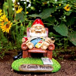Nain de jardin Couch Potato