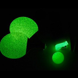 Ping-Pong de bureau phosphorescent