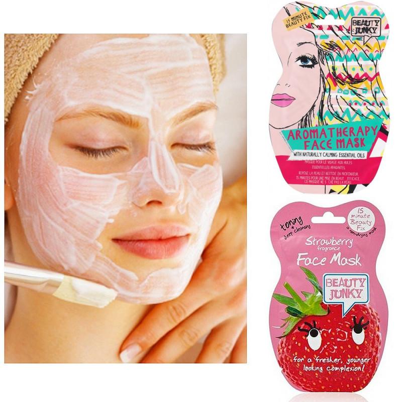 Duo de Masques de beauté régénérant fraise / aromathérapie
