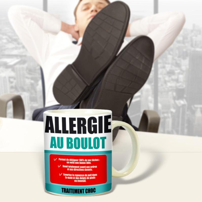 Mug Allergie au boulot