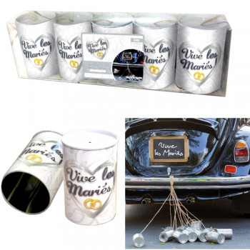 Kit boîtes à voiture Vive les mariés