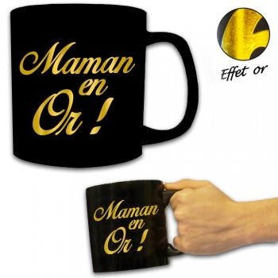 Mug géant Maman en Or